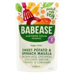 Babease Organic Sweet Potato and Spinach Masala 190g