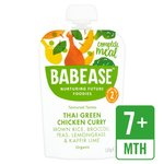 Babease Organic Thai Green Chicken Curry 130g