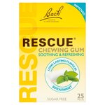 Bachs Rescue Remedy Chewing Gum 25 pack