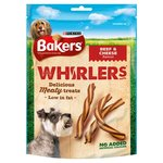 Bakers Whirlers Delicious Beef And Cheese Twisty Treats 175g