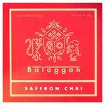 Balaggan Saffron Chai 12 Pyramid Teabags