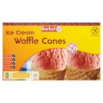 Barkat Gluten Free Waffle Ice Cream Cones 10 Pack 150g