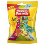 Bassetts Jelly Babies Tropical 165G