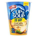 Batchelors Cup A Soup To Go Chicken And Vegetable with Croutons 34G