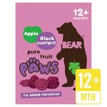 Bear Pure Fruit Paws Apple and Blackcurrant Flavour 5 X 20G