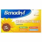 Benadryl One A Day Relief 14s