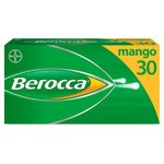 Berocca Mango Energy Vitamin Tablets 30 per pack