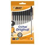 Bic Crystal Ball Pens Black 10 Pack