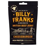 Billy Franks Cheeseburger Beef Jerky 30g