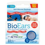 BioEars Soft Silicone Earplugs 9 per pack
