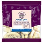 Biona Organic Banana Chips Yoghurt White Chocolate 70g
