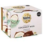 Biona Organic Coconut Milk 4 x 400ml