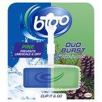 Bloo Duo Burst Antibacterial Solid Rim Block pine 38g