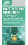 Boots Anaesthetic Sore Throat Relief Spray 20ml