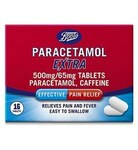 Boots Paracetamol Extra 500mg 16 Tablets