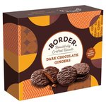 Border Dark Chocolate Ginger Biscuits Box 255g