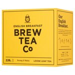 Brew Tea Co English Breakfast Loose Leaf Tea 226g