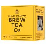 Brew Tea Co English Breakfast Tea 40 Teabags