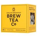 Brew Tea Co English Breakfast Tea 40 Teabags