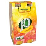 Britvic J2O Summer Shine Pear and Guava Fruit Blend 4 x 275ml Limited Edition