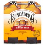 Bundaberg Light Ginger Beer 4 x 375ml