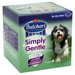 Butchers Choice Simply Gentle Meat and Rice Variety 4 x 150g
