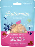 Buttermilk Artisan Confectionery Crumbly Fudge Caramel Sea Salt 120g