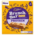 Cadbury Brunch Protein Peanut Cereal Bar 160g