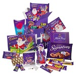 Cadbury Christmas Gold Treasure Box Hamper