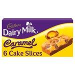 Cadbury Dairy Milk Caramel Cake Slice 6 Pack