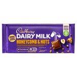 Cadbury Dairy Milk Chocolate Honeycomb and Nuts 105g