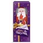 Cadbury Dairy Milk Large Chocolate Hollow Santa 175g