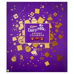 Cadbury Dairy Milk Mixed Chunk Advent Calendar 258g