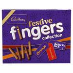 Cadbury Festive Fingers Collection Chocolate Biscuits 342g