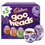 Cadbury Halloween 5 Goo Head Cream Eggs 200g