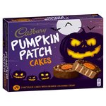 Cadbury Halloween Pumpkin Patch Cakes 5 per pack