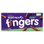 Cadbury Milk Chocolate Mint Fingers 114g