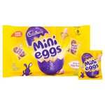 Cadbury Mini Eggs 8 Treatsize Bags 308g
