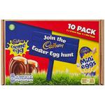 Cadbury Sharing Pack Easter Egg Hunt Creme and Mini Eggs 392g