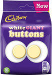Cadbury White Chocolate Buttons Giant 110g