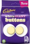 Cadbury White Chocolate Buttons Giant 110g