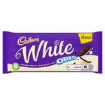 Cadbury White with Oreo Chocolate Bar 120g