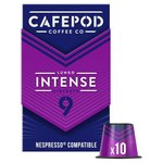 CafePod Intense Nespresso Compatible Coffee Capsules 10 per pack