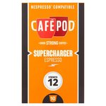 CafePod Supercharger Nespresso Compatible Coffee Capsules 10 per pack