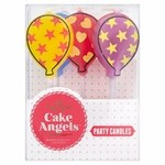 Cake Angels Balloon Party Candles Pack of 5
