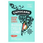Capsicana Brazilian Chilli and Coconut Quick Cook Sauce 100g