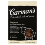 Carmans Yogurt Apricot and Almond Bars x4