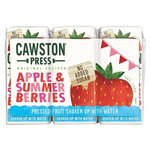 Cawston Press Apple and Summer Berries Kids Blend 3 x 200ml