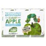 Cawston Press The Very Hungry Caterpillar Cloudy Apple 3 x 200ml