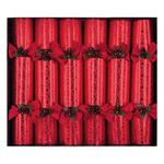 Celebration Crackers Crimson Delight Luxury Christmas Crackers 6 per pack